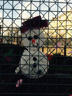 Burma court Playgroup snowman