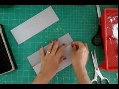 Como fazer uma caixa de cartonagem aula 1 para iniciantes