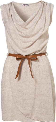 Belted Wrap Dress By Wal G