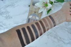 Pretty Vulgar Nightingale Eye Shadow Palette Swatches My Makeup Collection, Makeup Swatches, Nightingale, Eye Shadow, Eyeshadow Palette, Pretty, Flowers, Beauty, Makeup Samples