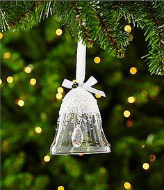 Swarovski Christmas Bell Ornament Annual Edition 2015 #Dillards