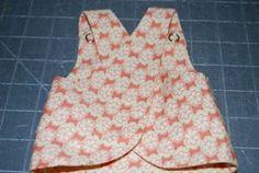vestido cruzado para muñecas tipo NENUCO  ,patrones y tutoriales