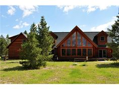 Colorado Homes for Sale - Upper $500's - Custom Log Home on 20+ Acres in Leadville, Colorado