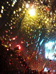 Part 3 Random Colours Through The Car Window Animation, Christmas Bulbs, Rain, Windows, Colours, Holiday Decor, Random, Rain Fall, Christmas Light Bulbs