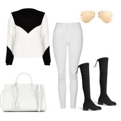 Untitled #231 by charlotte-down on Polyvore featuring polyvore, fashion, style, River Island, Topshop, Yves Saint Laurent, Ray-Ban and clothing