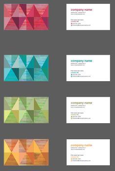 Retro Diamonds Business Cards #Design #Template