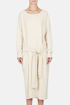 Christophe Lemaire — Knotted Dress Butter — THE LINE