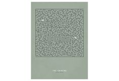 Minimalist movie poster design 'The Shining' — 'Maze'