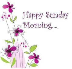 Happy Sunday morning! Lots of love! ♥