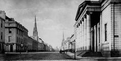 Old photo of Union Street, Aberdeen, Scotland