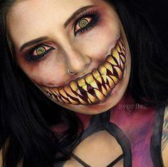 Halloween-Inspired Body Makeup : Halloween characters