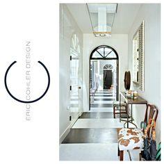 Eric Cohler Design: Entry Space: #ECD #EricCohler #InteriorDesign #SanFrancisco