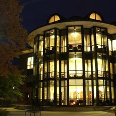 Scribner Library at Skidmore College in Saratoga Springs, NY.