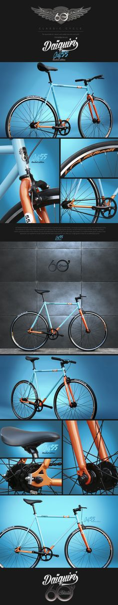 a8099a20ce9 Daiquiri Limited series Fixed Gear Bike Fixie Single Speed Bicycle Track