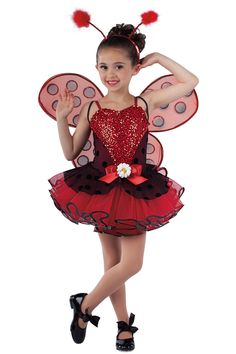 15543 Little Lady Bug | Novelty Dance Costumes | Dansco | Dance Fashion 2014 2015  | Pinterest Keywords: Lady Bug with Wings Dance Recital Costumes, Girls Dance Costumes, Jazz Costumes, Fancy Costumes, Cute Halloween Costumes, Ballet Costumes, Dance Outfits, Dance Dresses, Girls Dresses