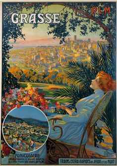 old poster -Grasse by april-mo, via Flickr
