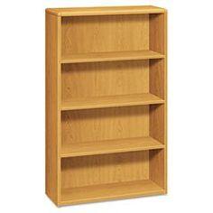 * 10700 Series Bookcase, 4 Shelves, 36w x 13-1/8d x 57-1/8h, Harvest  #MotivationUSA #Home