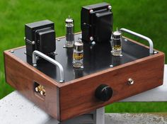 6CY7 Single-Ended Triode (SET) Stereo Amplifier
