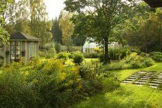 K niin kuin Koti: Puutarhasuunnitelmia