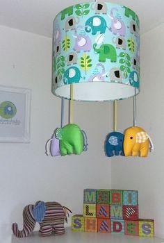 Items Similar To Green Elephant Lamp Shade, Zoo Animal Nursery Lighting,  Safari Nursery Decor, Elephant Nursery Mobile Baby, Gift For Goddaughter On  Etsy