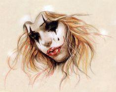 victoria frances art | clown with tears Victoria Frances Art | Paintings Art Picture