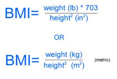 An adverse effect on health it is defined by body mass index bmi