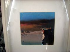 ORIGINAL PAINTING BY CHRIS BUSHE THIS IS A 3D PAINTING ACRYLIC & WATER TITLED HE