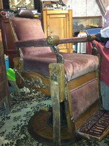 Vintage Barber Chairs On Pinterest Barber Chair Koken