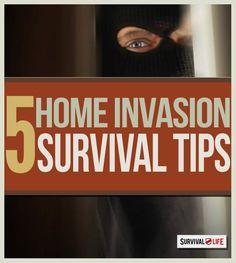 5 Home Invasion Defense Tips