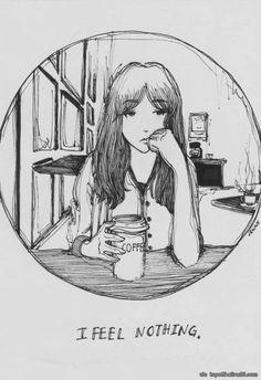 Interesting coffee drawing.