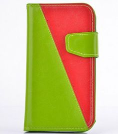 ***REALLY LIKE THIS ONE*** Big Mango Multipurpose Simplicity Style Flip Folio PU Leather Case / Wallet Cover for Apple iPhone 5 5s 5g with Built-in Stand & Multiple Card Slots & Magnetic Snap Button - Green + Red Big Mango http://smile.amazon.com/dp/B00J0AAADS/ref=cm_sw_r_pi_dp_BAkMtb0PFTFYGSZA