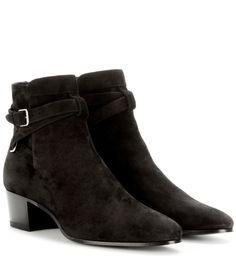 Saint Laurent Blake 40 Jodhpur leather ankle boots Nero           $149.00