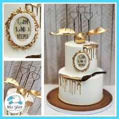 Harry Potter Hochzeitstorte - - Best Picture For chocolate wedding cake designs For Your Taste You are looking for something, and it is going to tell you exactly what yo Harry Potter Wedding Cakes, Harry Potter Desserts, Gateau Harry Potter, Harry Potter Birthday Cake, Harry Potter Cupcakes, Harry Wedding, Wedding Rings, Pastel Harry Potter, Baby Harry Potter