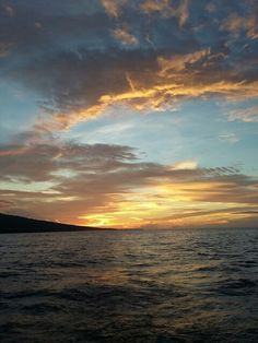 Sunset at Flores sea