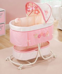 Look what I found on #zulily! Summer Infant Pink Lila Soothe & Sleep Bassinet by Summer Infant #zulilyfinds