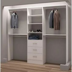 Luxus-Walk-in Closet – Luxury Dale Bedroom Closet Design, Master Bedroom Closet, Closet Designs, Diy Bedroom, Bedroom Ideas, Bedroom Closets, Bathroom Closet, Bedroom Modern, Master Bedrooms