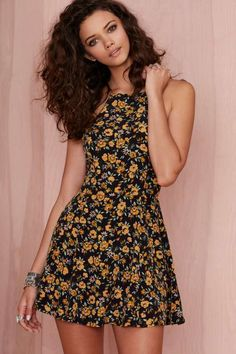 After Party Vintage Jen Floral Dress - $78