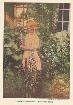Vintage Garden Pictures