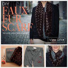 Diy Faux Fur Scarf