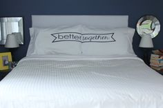 SALE  Better Together Pillow Case Better Together by OSusannahs, $27.99 - They just keep coming. All so lovely.
