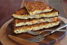 מעקודה – פשטידה מרוקאית לפסח עם כבד עוף וביצים קשות