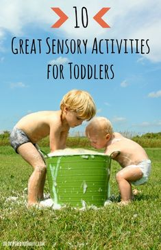 10 great sensory activities for toddlers