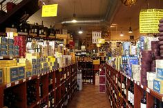 Botiga de productes gourmet i sibarites. les millors conserves de marisc de Galicia