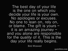 the day your life begins