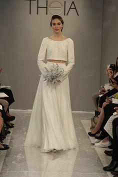 Bridal Fashion Week   2015 Theia Collection   Bridal Musings Wedding Blog 3