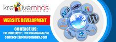Choose Kre8iveminds Technologies Pvt. Ltd. for unique and best Website Development! http://www.kre8iveminds.com/