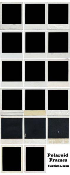 Polaroid Templates ✞ - polaroid template