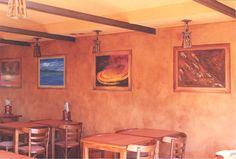 Pinturas de los cuatro elementos y una pátina de un tono neutro que las  acompaña