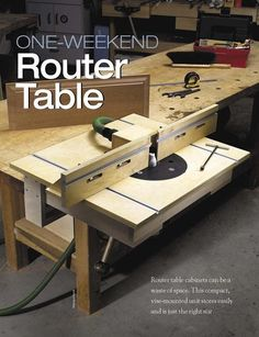 One-weekend Router Table | ShopWoodworking