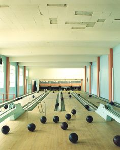 The #bowling life. Gotta love it. Since we all can't have a house with this in…